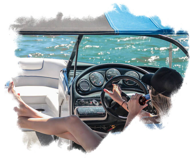 BE Relax on a private boat charter in fort de soto park FL