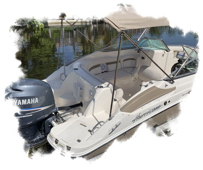 BE - A speedboat for rent